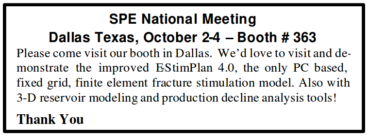 SPE National Meeting